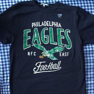 Philadelphia Eagles Football T-shirt Sz M